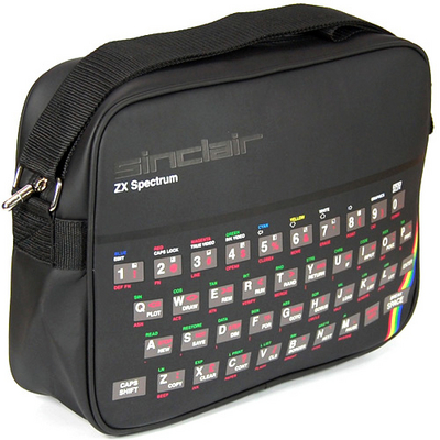 ZX SPECTRUM SPORTS BAG/ OLKALAUKKU