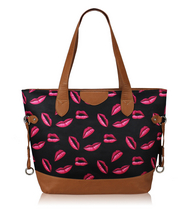 Fashion Only Red Lips shopperi