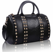 Laukku Black Fashion Satchel