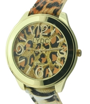 The Cooper Ladies Watch by LYDC in Leopard