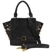 Winged Tote Bag With Studs -Niittilaukku, musta